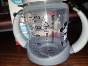 NUK FС+ ДИСНЕЙ Микки Маус обучающая бутылочка с силиконовой насадкой, 150 мл - черная #4, Ирина