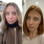 L'Oreal Paris Стойкая крем-краска для волос  Excellence, оттенок 7.43, Медный русый #13, Екатерина М.