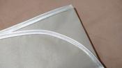 Клеенка подкладная резиновая с ПВХ-покрытием ROXY-KIDS 68х100 см, цвет серо-бежевый #8, Алина Ш.