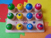"""Развивающая игрушка Краснокамская игрушка """"Грибочки"""", Н-60 #51, Карина Г."""