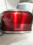 Тостер Kitfort КТ-2036, красный #167, Марина Г.