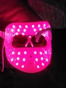 Gezatone Косметологический аппарат Светодиодная маска для омоложения кожи лица m1020 #8, Светлана