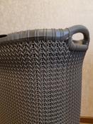"""Бак для белья Curver """"Knit"""", 57 л #1, Анастасия Б."""