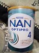 Молочко NAN 4 OPTIPRO для роста, иммунитета и развития мозга, с 18 месяцев, 800 г #10, татьяна П.