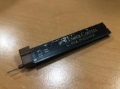 Faber-Castell Грифель для карандаша Superpolymer H 0,5 мм 12 шт #7, Марина