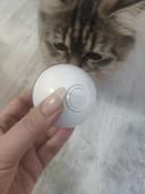 Интерактивная игрушка для кошек PetLeon Вращающийся на 360 градусов мяч USB заряжаемый светодиодная подсветка #14, Мария Г.