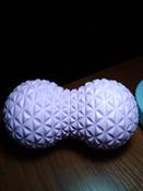 Массажный ролик Bodyboss GRANULA TWIN BALL / Розовый / 16х9 см / Двойной / Мячики массажные / Массажный мяч #3, Надежда Ф.