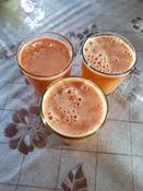 Соковыжималка Kitfort КТ-1106-1, цвет: красный #9, Эльза И.