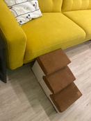 Лестница для собак прикроватная, складываемая, с отсеками для хранения #5, Надежда Ч.
