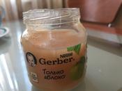 Пюре фруктовое Gerber Только яблоко, первая ступень, 12 шт х 130 г #14, ANNA Gavrikova