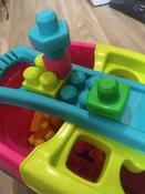 Тележка-сортер для сбора деталей  Mega Bloks, розовый #11, Борзунова Анна