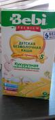 Bebi Премиум каша Кукурузная низкоаллергенная с пребиотиками, с 5 месяцев, 200 г #2, Екатерина