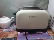 Тостер Kitfort КТ-2014-2, цвет: бежевый #12, Жанна С.