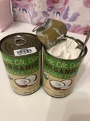 Кокосовое молоко органическое VietCOCO 73% без сахара растительное в жестяной банке 400 мл #4, Лидия Б.