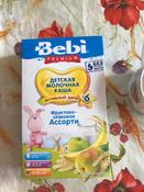 Bebi Премиум каша фруктово-злаковое ассорти молочная, с 6 месяцев, 250 г #9, Марина
