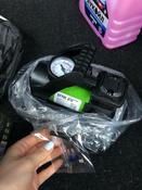 Компрессор автомобильный Q3 Stvol, металлический со светодиодным фонарем, 40 л/мин, 12В, 10А, с сумкой #13, Савельева Анастасия