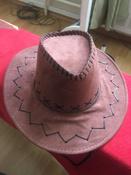 """Маскарадная шляпа """"Ковбой"""", цвет: коричневый. 31335 #1, Егор"""