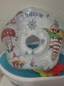 Круг надувной на шею для купания новорожденных и малышей Robby от ROXY-KIDS #9, 1