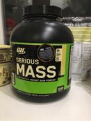 """Гейнер """"ON-Serious Mass"""" 6 lb Vanilla #9, Катерина М"""