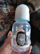 Бутылочка для кормления Lubby, с соской, от 0 месяцев, 12023, 125 мл #6, Валерия С.