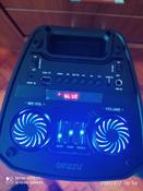 Музыкальный центр Ginzzu GM-208 с функцией Bluetooth v4.2, 50Вт, USB-flash, microSD, FM-радио, пульт ДУ, эквалайзер, КАРАОКЕ, динамическая LED подсветка динамиков #7, Наталия К.
