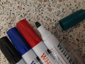 Набор OfficeSpace маркеров для белых досок 4 цвета #13,  Лидия
