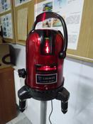 Уровень лазерный самовыравнивающийся DEKO LL57 SET 1 (5 линий, красный луч) #13,  Сергей