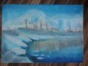 """Пастель масляная художественная для рисования Brauberg Art """"Classic"""", набор 36 цветов, круглое сечение #3, Альбина Х."""