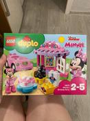 Конструктор LEGO DUPLO Disney 10873 День рождения Минни #1, Татьяна М.