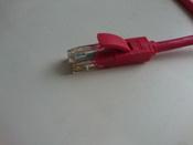 LAN кабель GCR для подключения интернета cat5e RJ45 1Гбит/c 30 м патч корд красный #10, Дмитрий Г.