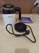 Электрический чайник Kitfort КТ-639 #9, Матовый, свет приглушенный