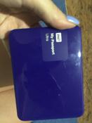 Внешний жесткий диск WD (WDBDDE0010BBL-EEUE), синий #7, Олеся Фисенко