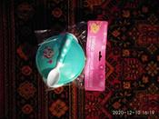 """Набор детской посуды """"Зайчик"""", 3 предмета, цвет бирюзовый #1, Ксения Л."""