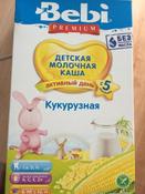 Bebi Премиум каша кукурузная молочная, с 5 месяцев, 200 г #1, Ольга С.