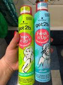 """Got2b Fresh it Up Парфюмированный сухой шампунь """"Экстра-свежесть, легкий и свежий"""", 200 мл #13, Каролина Ф."""