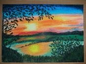 """Пастель масляная художественная для рисования Brauberg Art """"Classic"""", набор 36 цветов, круглое сечение #2, Альбина Х."""