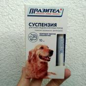 Суспензия Празител плюс от глистов для собак средних и крупных пород #12, Никита У.