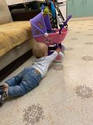 """Полесье коляска для кукол """"Arina"""" 4-х колёсная в пакете #4, Анна М."""