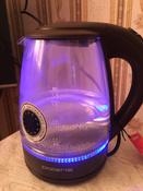 Электрический чайник Polaris PWK 1767CGL, серый #5, Катя Д.