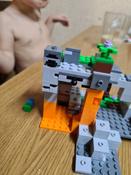 Конструктор LEGO Minecraft 21141 Пещера зомби #3, Анжелика Е.