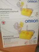 Ингалятор Omron NE-C24 Kids компрессорный небулайзер #9, Данил Ш.