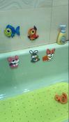 Коврик резиновый противоскользящий для ванной с отверстиями ROXY-KIDS 34,5х76 см, цвет салатовый #4, Александр Ш.
