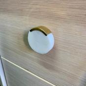 Мебельная ручка VR1 белый мрамор #3, Роман С.
