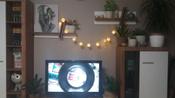 Электрическая гирлянда  Красный куб, питание Батареи АА #3, Юлия