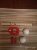 """Логопедическая игра-тренажер для развития речевого дыхания у детей """"Классика"""", аэробол с парящим шариком   #6, Николай Б."""