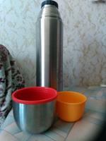 Термос Крышка-чашка, Вакуумный Relaxika, 1.2 л #4, Киселева А.