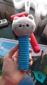 Игрушка пищалка для самых маленьких: Котёнок Кекс, Мякиши #6, Ксения Н.