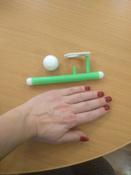 """Логопедическая игра-тренажер для развития речевого дыхания у детей """"Аэробол"""", развивающий набор из 2 дудочек с парящим шариком #2, Светлана О."""