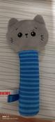 Игрушка пищалка для самых маленьких: Котёнок Кекс, Мякиши #1, Максим Б.