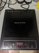 Индукционная Настольная плита Zigmund & Shtain ZIP-553, черный #4, Евгений М.